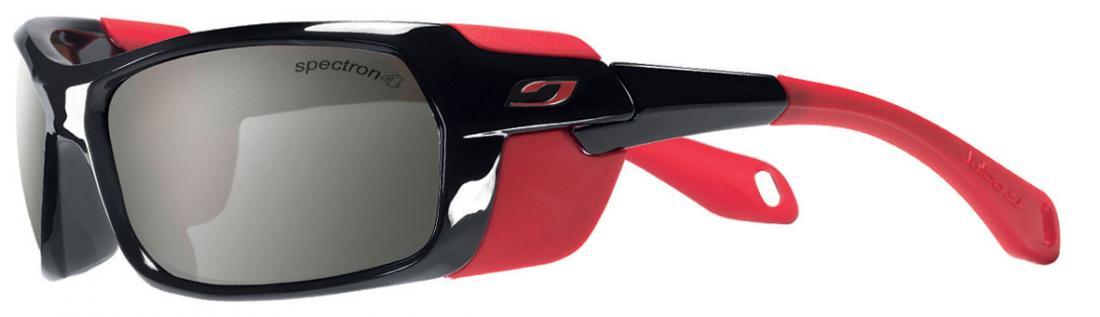 Очки Julbo  Bivouak 383Очки<br>Julbo Bivouak 383 – первые в мире очки с магнитными шторками для увеличения защиты от боковых лучей. Вы можете легко прикрепить эти шторки к оправе...<br><br>Цвет: Красный<br>Размер: None
