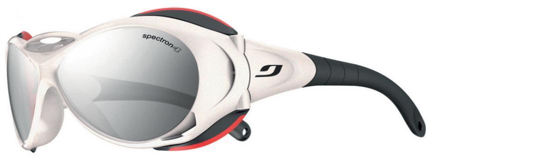 Очки Julbo  Explorer 326Очки<br>Большая высота и сложные условия требуют хорошего снаряжения, очки Explore были разработаны в сотрудничестве с одной из лучших горных школ – C...<br><br>Цвет: Белый<br>Размер: None