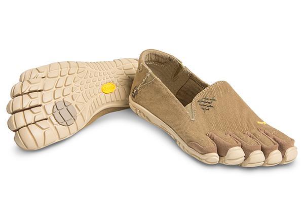Мокасины FIVEFINGERS CVT-Hemp WVibram FiveFingers<br>Эта дышащая минималистичная модель без шнуровки обеспечивает устойчивую посадку и ощущение по-настоящему босоногой ходьбы. Изготовлена из смеси пеньки и полиэстера. Эта износостойкая и комфортная обувь подходит для повседневной носки.<br><br>П...<br><br>Цвет: Хаки<br>Размер: 36