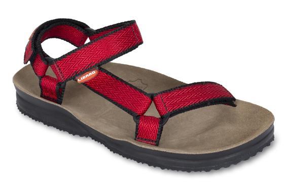 Сандалии SUPER HIKE WСандалии<br>Благодар анатомической форме, обеспечивает лучшу поддержку ступни.<br>Верхн часть: тройна конструкци из текстильной стропы с боковыми стжками и застежками Velcro дл прочного креплени на ноге и быстрой регулировки. Специальные мгкие вставки дл доп...<br><br>Цвет: Красный<br>Размер: 39