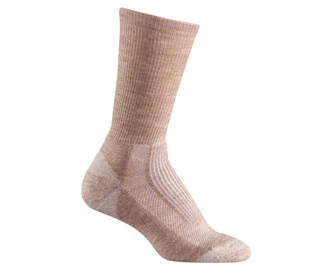 Носки турист. жен. 2525 MERINO HIKERНоски<br>Мы были первыми, кто создал специальные носки с учетом особенностей строения женской стопы. Эти носки идеально подходят для долгих прогулок, скалолазания и походов, обеспечивая амортизацию там, где необходимо.<br><br><br>Система URfit™<br>&lt;l...<br><br>Цвет: Бежевый<br>Размер: M