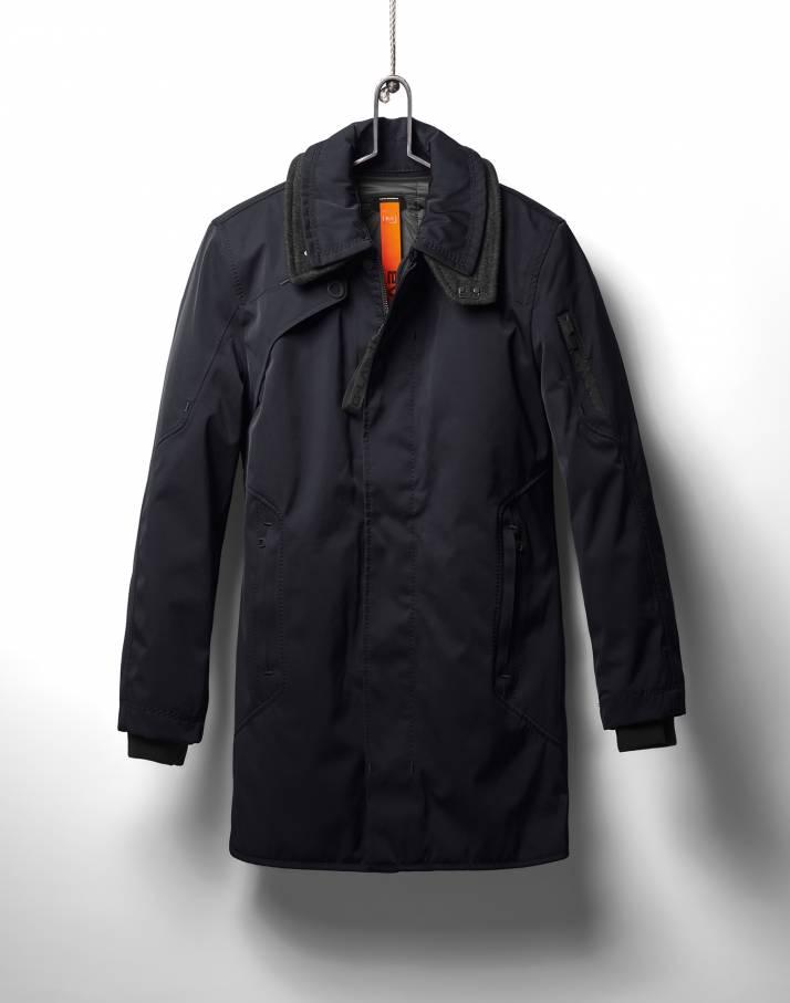 Куртка утепленная муж.CosmoКуртки<br>Куртка Cosmo от G-Lab создана для успешных, уверенных в себе мужчин, которые стремятся всегда выглядеть безупречно. Эта модель идеально сочетается как с деловым костюмом, так и с одеждой свободного стиля. Она привлекает внимание функциональным дизайном...<br><br>Цвет: Синий<br>Размер: XL