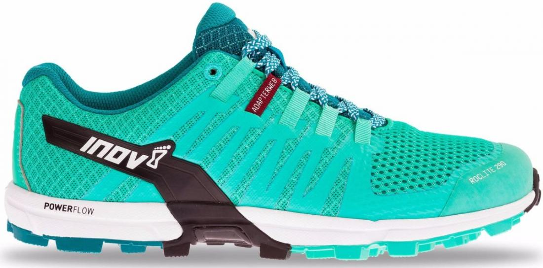 Inov-8 Кроссовки Roclite 290 жен. (3.5, Teal/Black/White, , ,) inov 8 питьевая система 2l reservoir clear black