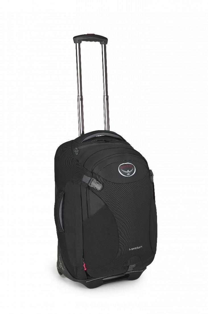 Сумка-рюкзак на колёсах Meridian 60Сумки<br>Удовольствие от путешествия заключается как раз в том, что вы не знаете, что ждет за углом. Камни? Песок? Ступеньки? С сумкой серии Meridian, легко трансформирующейся в рюкзак, вы окажетесь, максимально мобильны в любом путешествии. Она обладает надежн...<br><br>Цвет: Темно-серый<br>Размер: 60 л