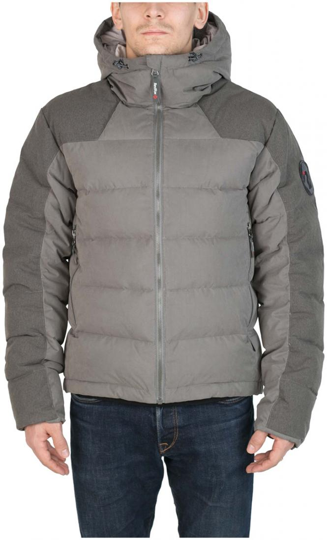 Куртка пуховая Nansen МужскаяКуртки<br><br> Пуховая куртка из прочного материала мягкой фактурыс «Peach» эффектом. стильный стеганый дизайн и функциональность деталей позволяют использовать модельв городских условиях и для отдыха за городом.<br><br><br>  Основные характеристики <br>&lt;...<br><br>Цвет: Темно-серый<br>Размер: 56