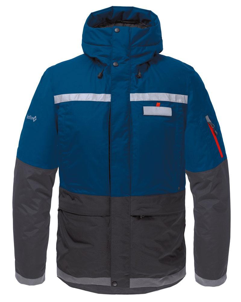 Куртка утепленная Malamute МужскаяКуртки<br><br> Функциональная куртка с повышенными водоотталкивающими свойствами, выполнена с применениемплотной внешней мембранной ткани и высокотехнологичного утеплителя. Обеспечивает защиту в самых экстремальных погодных условиях.<br><br> Основные характерист...<br><br>Цвет: Темно-синий<br>Размер: 48