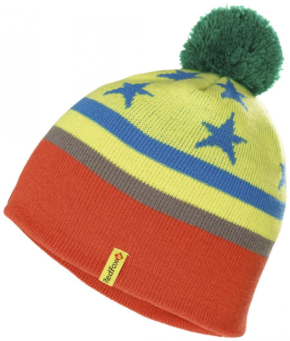 Шапка Render II ДетскаяШапки<br>Яркая стильная шапка с контрастным помпоном прекрасно сохраняет тепло. Она приятна на ощупь и хорошо сочетается с различными комплектами одежды.<br><br>материал: 100 % Acrylic<br>размерный ряд: 48-50, 50-52, 52-54<br><br><br>Цвет: None<br>Размер: None