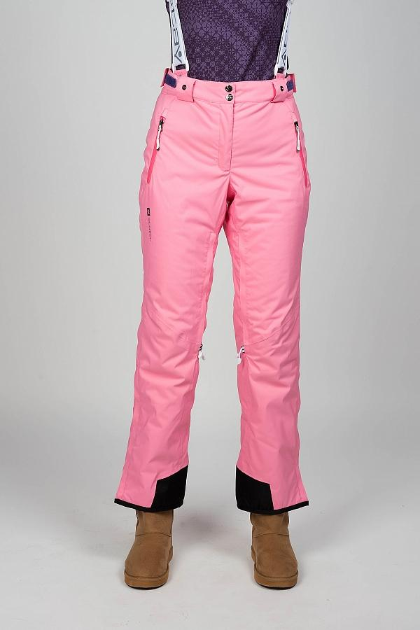 Брюки утепленные 222436Брюки, штаны<br><br><br>Цвет: Розовый<br>Размер: 48