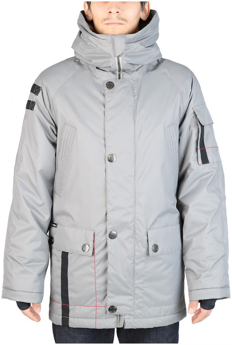 Куртка утепленная Tundra MКуртки<br><br><br>Цвет: Темно-серый<br>Размер: 44