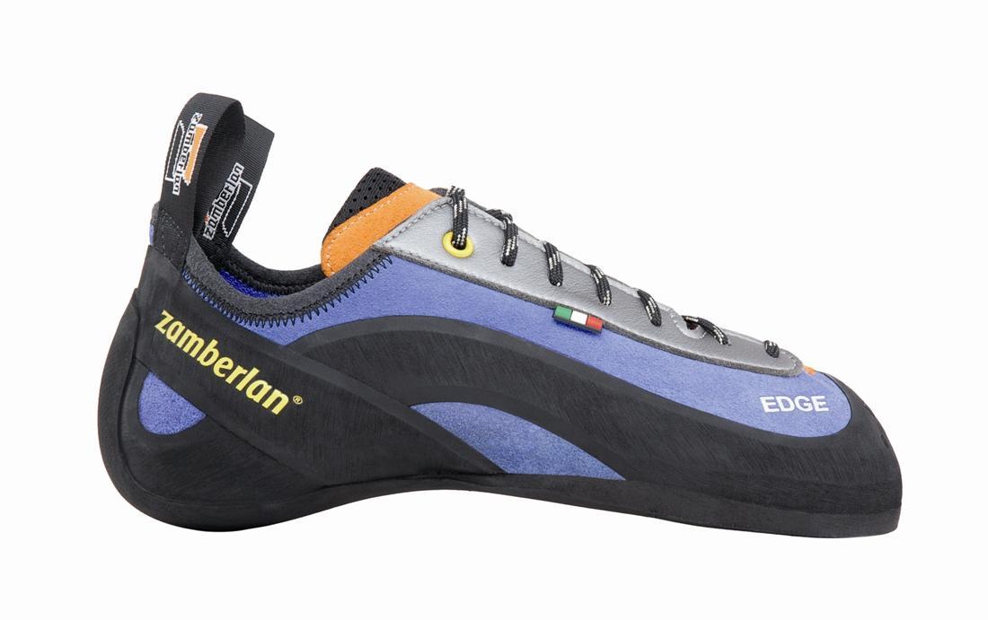 Скальные туфли A78 - EDGEСкальные туфли<br><br> Скальные туфли Zamberlan®, изготовленные из высококачественных материалов, обладают идеальной посадкой и гарантируют максимальный комфорт. Различные особенности конструкций скальных туфель подходят для различных степеней сложности скалолазания....<br><br>Цвет: Голубой<br>Размер: 39