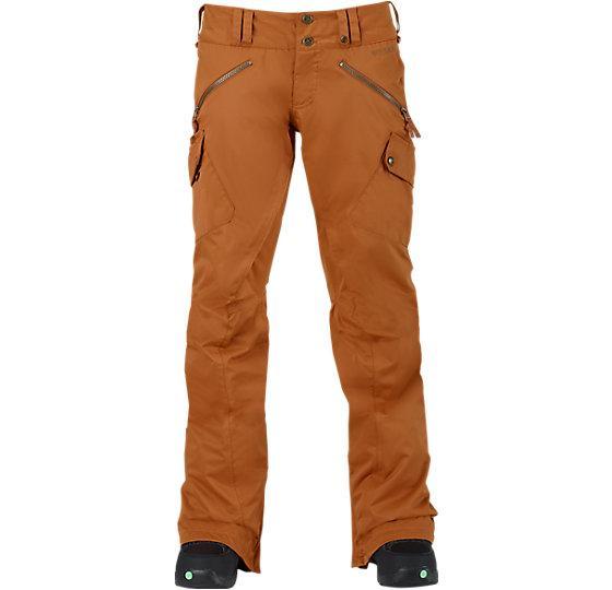 Брюки г/л W TWC HOT SHOT PTБрюки, штаны<br>Функциональные сноубордические штаны, которые подойдут под любую куртку благодаря своему классическому уличному стилю. Ни мокрый снег, ни...<br><br>Цвет: Коричневый<br>Размер: S