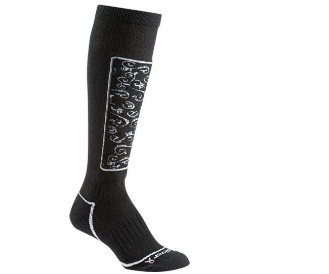 Носки лыжные жен.5509 HeavenlyНоски<br><br><br>Цвет: Черный<br>Размер: S