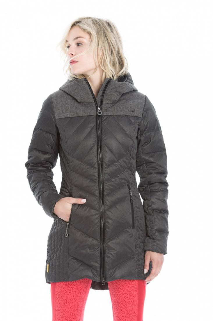 Куртка LUW0315 FAITH JACKETКуртки<br><br> Выбирайте изящное пуховое полупальто Faith для динамичных городских будней или комфортного отдыха на природе!<br><br><br><br>Контрастный цветовой дизайн создает эффектный и модный образ. <br><br>Стеганный дизайн и приталенный силуэт мо...<br><br>Цвет: Черный<br>Размер: S