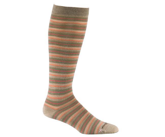 Носки повседневные жен.4518 KNEE-HIGH STRIPERНоски<br>Очень тонкие носки из мериносовой шерсти сохранят Ваши ноги в тепле и комфорте на протяжении всего дня, а также придадут Вам особый стиль. Имеют усиления на носке и пятке для максимального срока службы.<br><br><br>Система URfit™<br>Усиле...<br><br>Цвет: Бежевый<br>Размер: S