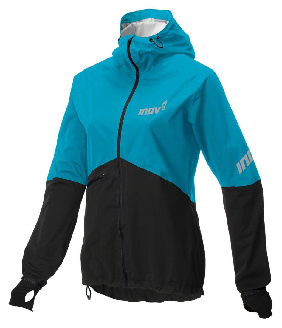 Inov-8 Куртка Race Elite Raceshell FZ W (XL, Turquoise/Black, ,) inov 8 футболка at c tri blend ss strip w 6 black pink