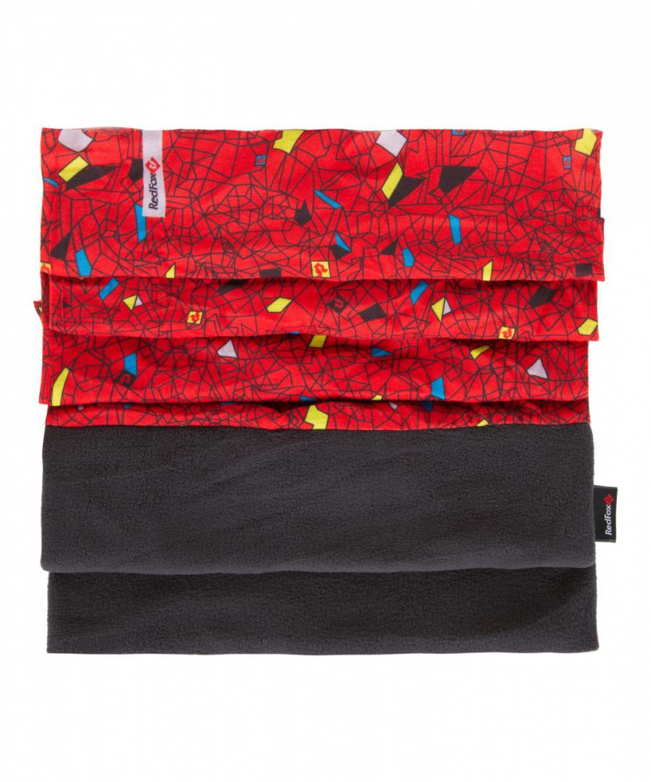 Шарф-бандана MFБанданы<br><br> Многофункциональный шарф-бандана. Комбинация основной ткани и утепляющего флисового элемента позволяет использовать этот аксессуар в различных вариациях: как закрывающий шею шарф, шарф для нижней части лица, в качестве банданы, как полноценную шапк...