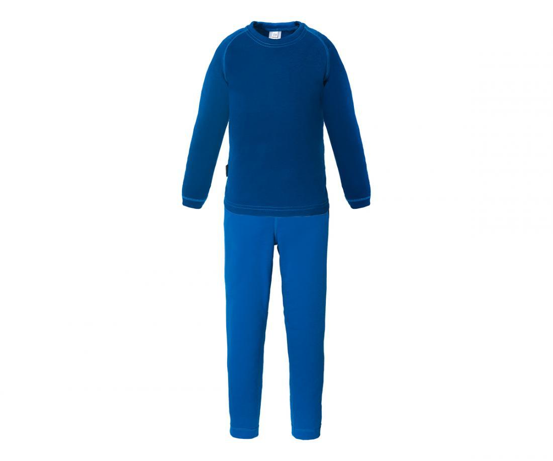Термобелье костюм Cosmos Light II ДетскийКомплекты<br>Сверхлегкое технологичное термобелье. Идеально в качестве базового слоя для занятий зимними видами спорта, а также во время прогулок и ношения каждый день для самых активных ребят. Отлично защищает от переохлаждения, и применяется в качестве ночных пижам ...<br><br>Цвет: Синий<br>Размер: 134