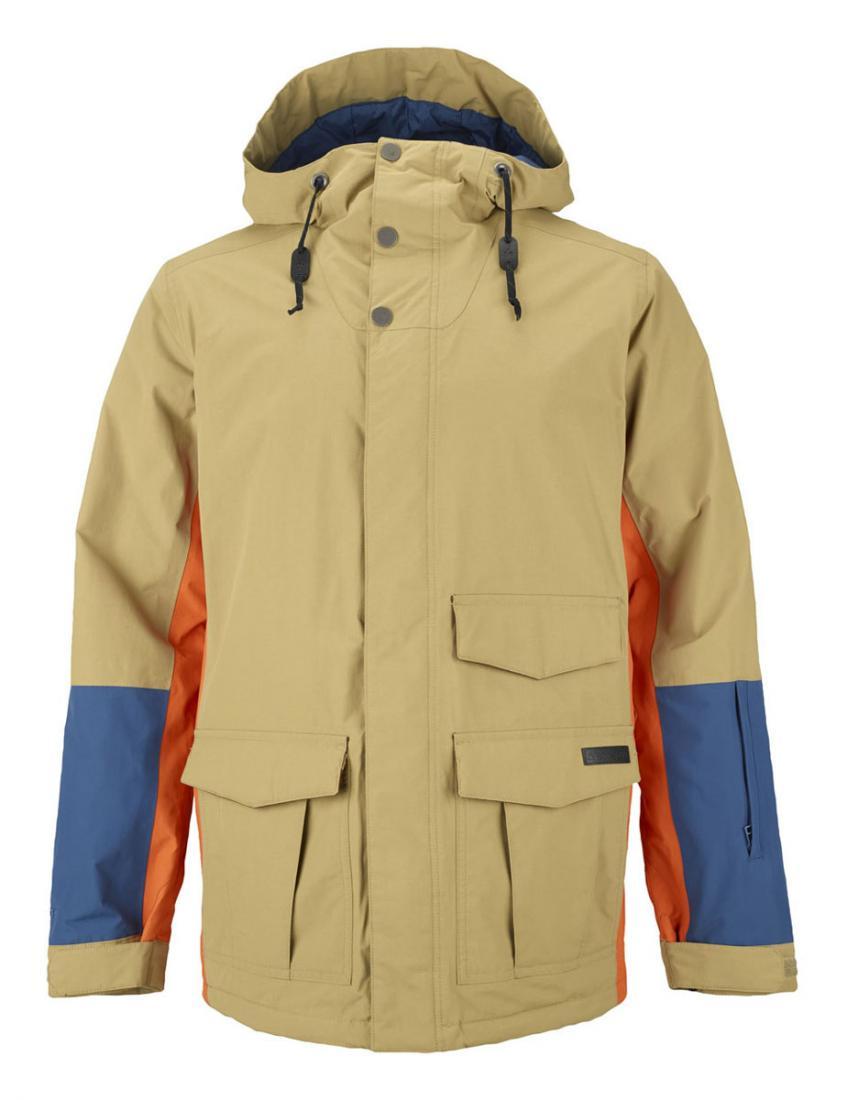 Куртка г/л MB NORTHFIELD JKКуртки<br>Мужская куртка Northfield от Burton – отличный выбор для райдеров. Она идеально под-ходит как для трассового, так и для паркового катания и позволяет наслаждаться скоро-стью и драйвом за счет свободного кроя и комфорта.<br> <br> Особенности<br><br>...<br><br>Цвет: Бежевый<br>Размер: M
