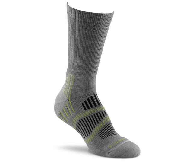 Носки турист. жен. 2536 Cascade Lt CrewНоски<br>Эти тонкие носки foxsox из износостойкого PRIMALOFT® подходят для любого путешествия. Женские Helix Fit™ повторяет форму стопы, поддерживая ее во вр...<br><br>Цвет: Серый<br>Размер: M