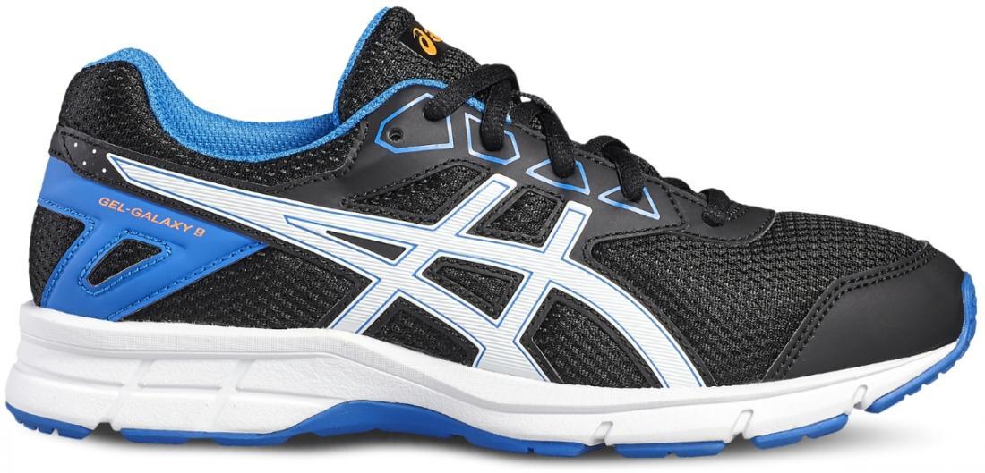 Кроссовки GEL-GALAXY 9 GS бег.детскиеБег, Мультиспорт<br>В кроссовках GEL-GALAXY 9 GS ноги вашего ребенка будут чувствовать себя так же отлично, как и он сам. На учебных занятиях, спортивной площадке или на прогулке в парке кроссовки будут стильно (мы бы даже сказали, «круто») выглядеть и подарят ребенку неп...<br><br>Цвет: Черный<br>Размер: 2