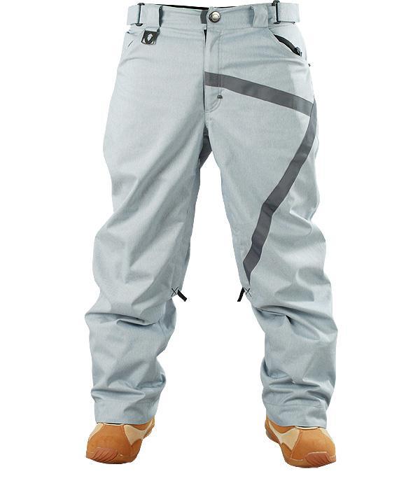 Штаны сноубордические ZБрюки, штаны<br><br> Легкие сноубордические штаны Z-Pants выполнены из прочной ткани, которая делает их идеальной экипировкой для катания в парке. Декор грубой лентой добавляет им неповторимого стиля. А свободная посадка не стесняет движений и оставляет скрытым полный ...<br><br>Цвет: Серый<br>Размер: 48