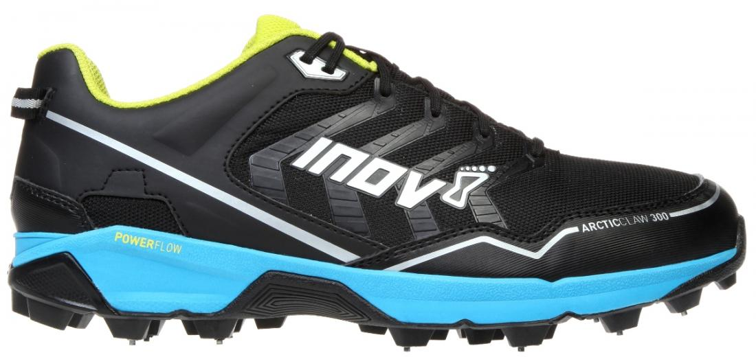 Inov-8 Кроссовки Arctic Claw 300 (11.5, Black/Blue/Silver/Yellow, ,) inov 8 питьевая система 1l reservoir 1 л clear black