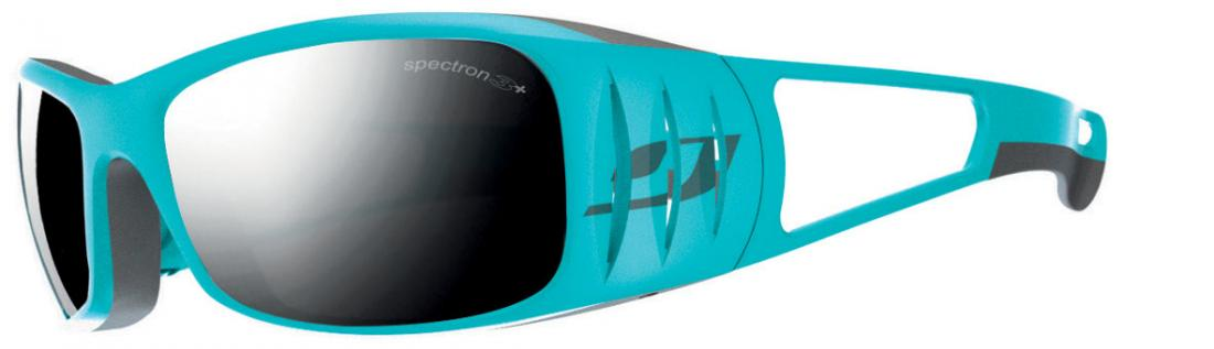 Очки Julbo  Tensing 453Очки<br><br>Tensing отличный выбор для начинающих альпинистов - конструкция оправы гарантирует максимальную защиту от солнца на большой высоте, а так...<br><br>Цвет: Голубой<br>Размер: None