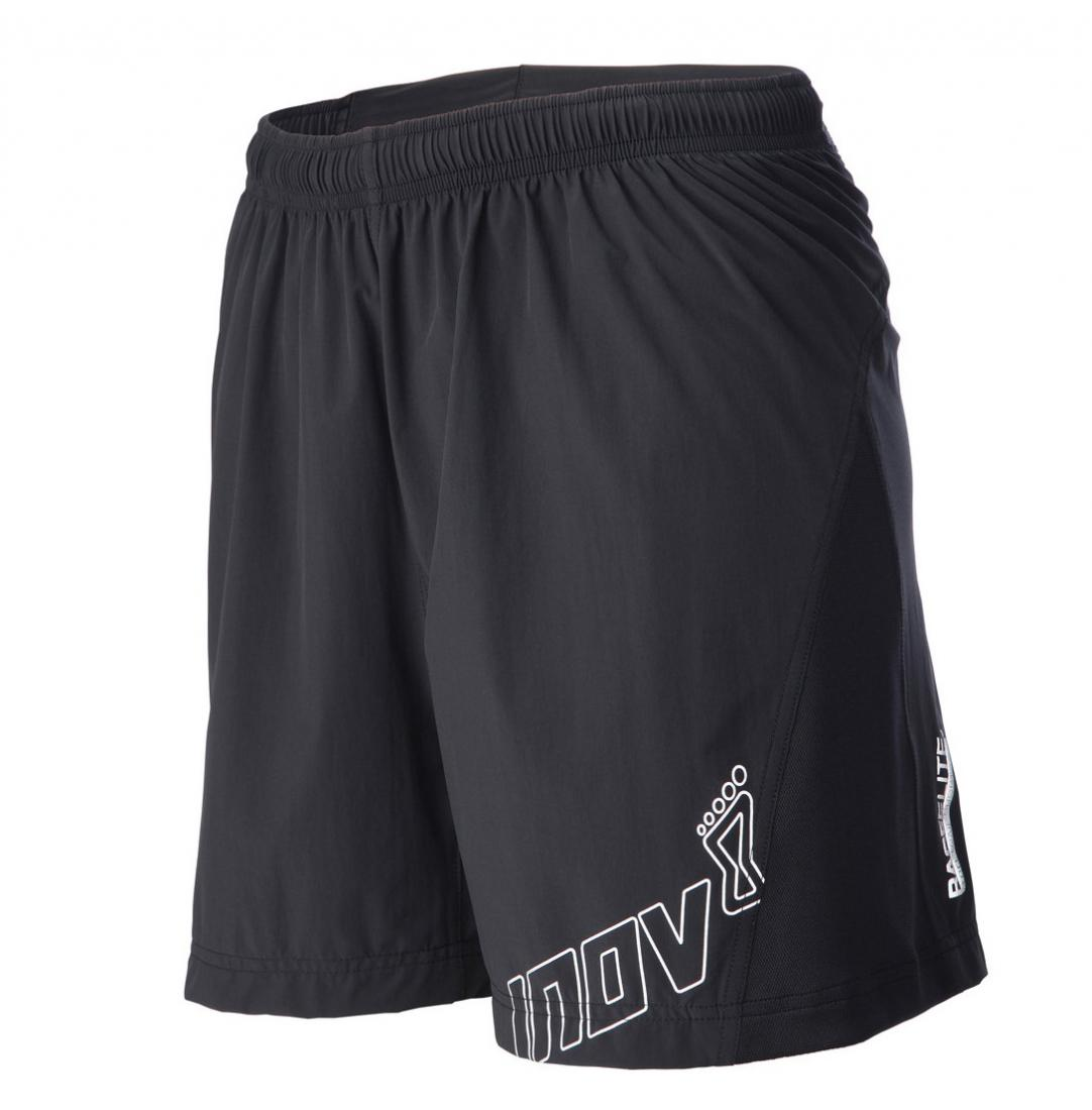 Inov-8 Шорты AT/C 6 (180 trail short) W (M, Black, ,) inov 8 футболка at c tri blend ss strip w 10 black pink
