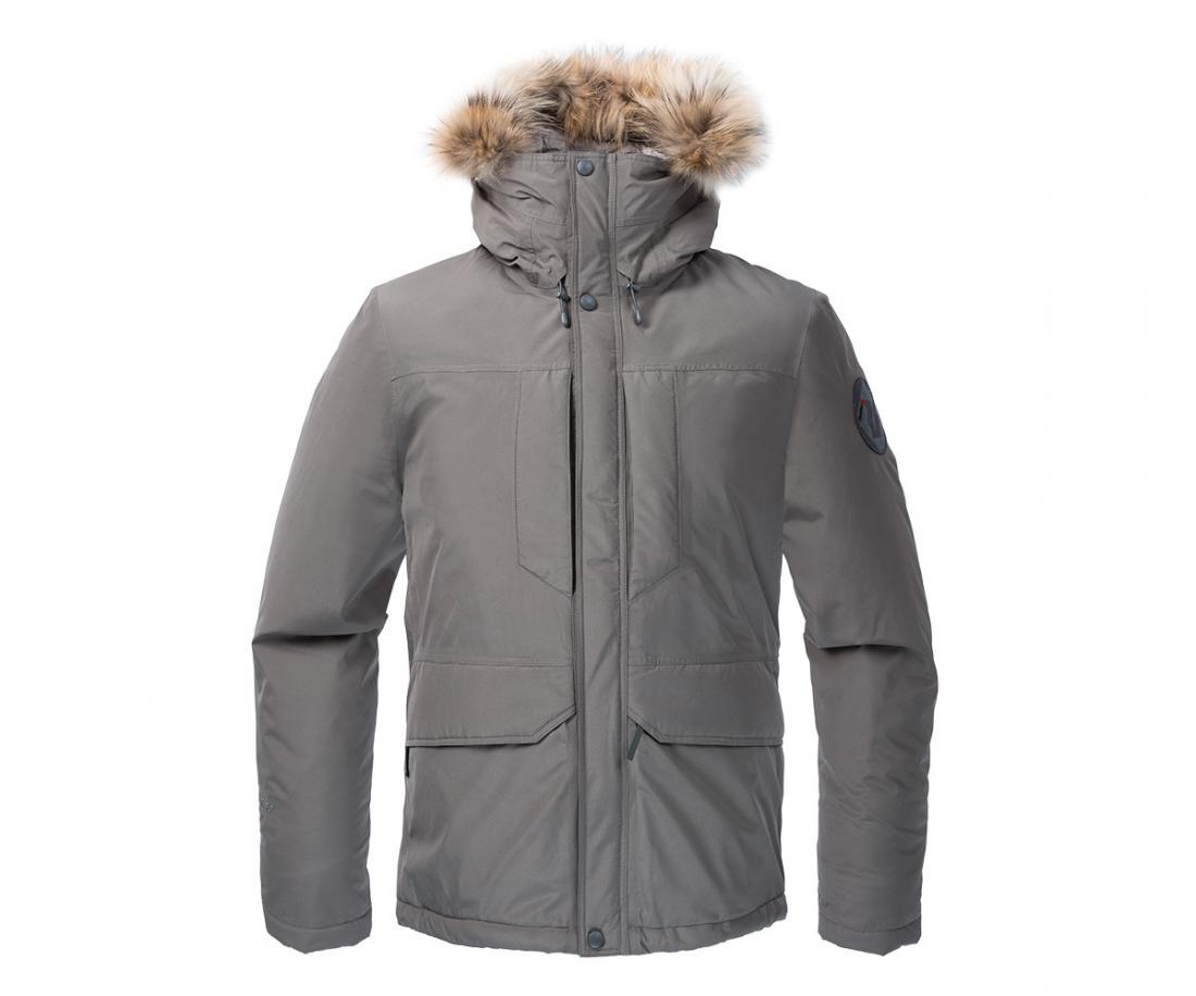 Куртка утепленная Yukon GTX МужскаяКуртки<br><br> Городская парка высокотехнологичного дизайна. Сочетание утеплителя Thinsulate® c непродуваемым материалом GORE-TEX® гарантирует исключительн...<br><br>Цвет: Серый<br>Размер: 56