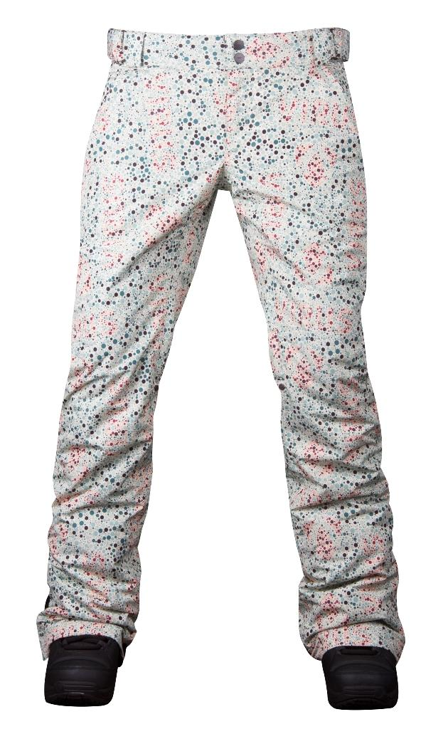 Штаны сноубордические утепленные Pure женскиеБрюки, штаны<br>Женские утепленные штаны, которые не увеличивают формы! За счет правильного кроя и удачной посадки сноубордические штаны Pure W сохраняют т...<br><br>Цвет: Бежевый<br>Размер: 48