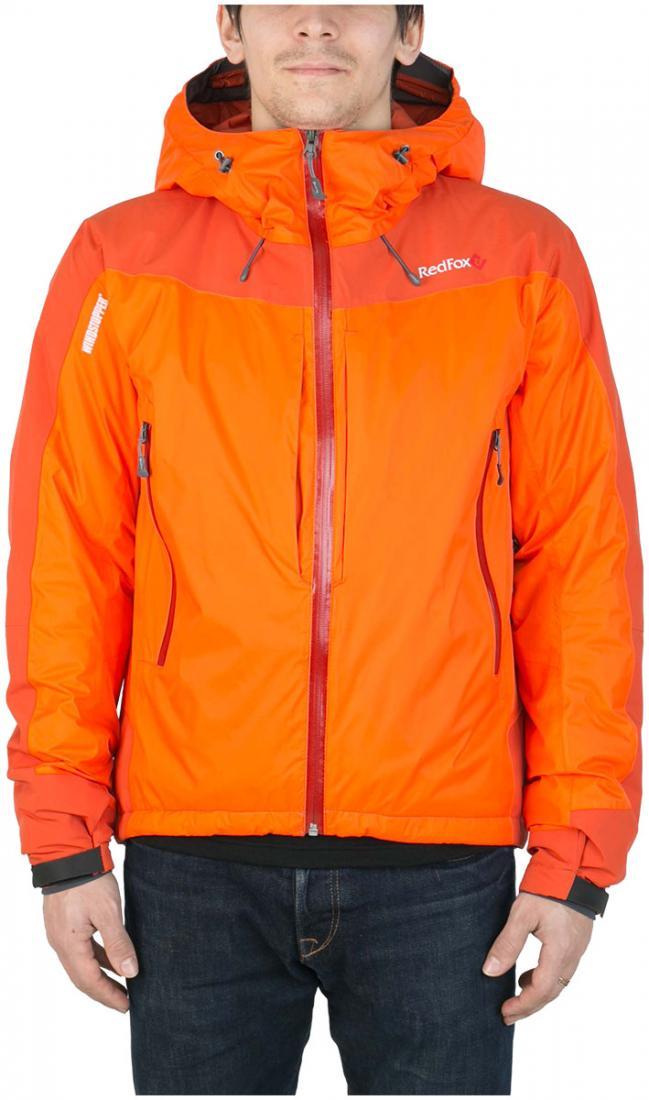 Куртка утепленная Wind Loft II МужскаяКуртки<br><br> Комбинация высокотехнологичного материала WINDSTOPPER® active Shell с утеплителем PrimaLoft ® Gold Insulation,позволяет использовать куртку в очень холодн...<br><br>Цвет: Темно-оранжевый<br>Размер: 48