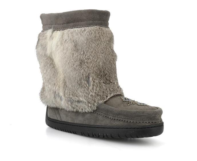 Унты Half Grain Mukluk женскУнты<br>Mukluk (или унты) – так канадские аборигены называли зимние сапоги. Метисы создали эти унты тысячи лет назад из натуральных материалов – шкур ...<br><br>Цвет: Серый<br>Размер: 8