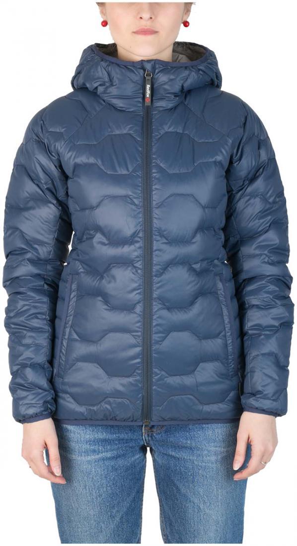 Куртка пуховая Belite III ЖенскаяКуртки<br><br> Легкая пуховая куртка с элементами спортивного дизайна. Соотношение малого веса и высоких тепловых свойств позволяет двигаться активно в течении всего дня. Может быть надета как на тонкий нижний слой, так и на объемное изделие второго слоя.<br><br>...<br><br>Цвет: Синий<br>Размер: 42