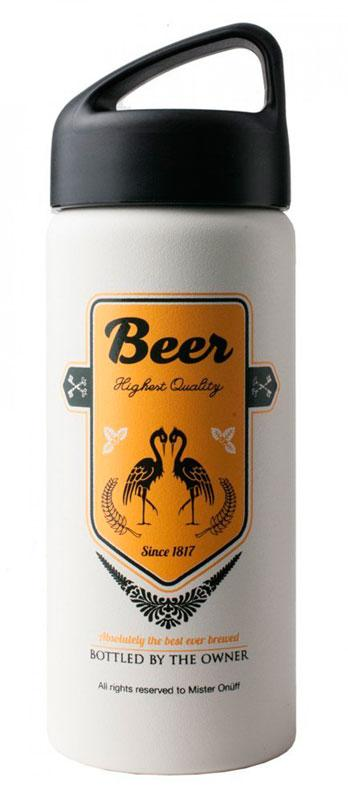 ONTA502 Термофляга MR. ONUFF BeerТермосы<br>Особенности:<br><br>Сохраняет напитки теплыми до 8 часов.<br>Сохраняет напитки охлажденными до 24 часов (рекомендуется добавлять кубики льда).<br>Изготовлена из пищевой 18/8 нержавеющей стали, не требующей нанесения специал...<br><br>Цвет: Белый<br>Размер: None