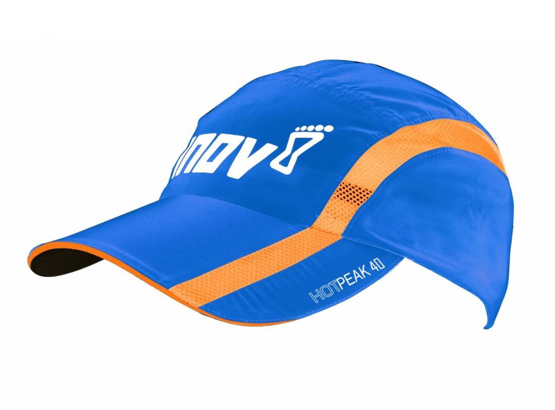 Кепка Hot Peak 40Маски<br>Жара не помеха для тренировок на свежем воздухе, если у вас есть кепка Hot Peak 40 от Inov-8. Она надежно защищает голову от солнечных лучей и перегр...<br><br>Цвет: Голубой<br>Размер: L