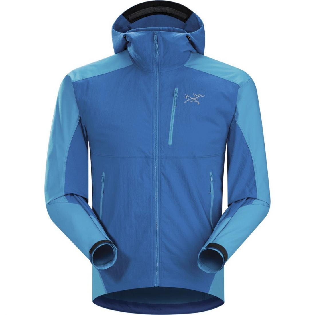 Куртка Gamma SL Hybrid Hoody муж.Куртки<br><br> Стильная альпинистская мужская куртка Arcteryx Gamma SL Hybrid Hoody объединила в себе массу преимуществ. Она легкая, но теплая, ветрозащитная, но ды...<br><br>Цвет: Синий<br>Размер: XL