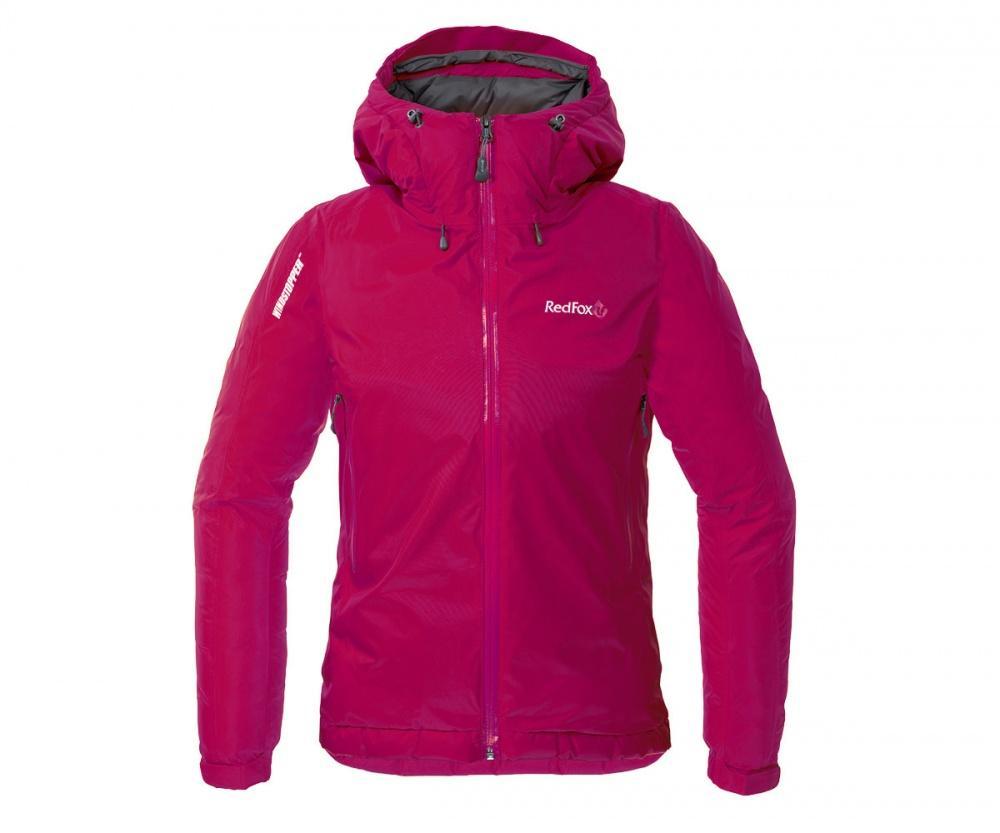 Red Fox Куртка пуховая Down Shell II Женская (44, 0200/малиновый, , , W 17-18) t shirt iceboys поло с коротким рукавом