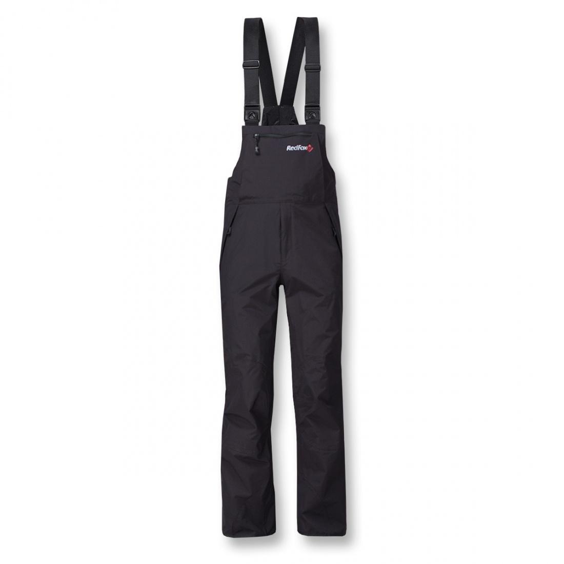 Брюки ветрозащитные Mont BlancБрюки, штаны<br>Штормовой полукомбинезон из серия Mountain Sport. Разъемные двухзамковые молнии по всей длине боковых швов позволят снять и надеть полукомбинезон, не снимая обуви.  <br> <br><br>Материал – Dry Factor 1000.<br>Проклеенные швы.<br>&lt;li...<br><br>Цвет: Черный<br>Размер: 52
