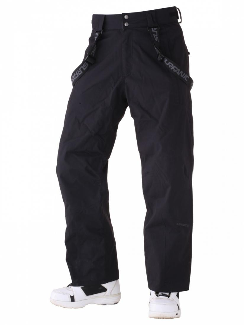 Брюки мужские SW131109001 PARKБрюки, штаны<br>Все брюки Surfanic сделаны в Великобритании. Они буквально нафаршированы самыми инновационными и полезными техническими особенностями! Вы н...<br><br>Цвет: Черный<br>Размер: S