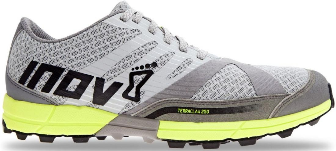 Inov-8 Кроссовки Terraclaw 250 Chill муж. (6, Silver/Yellow/Grey, , ,) inov 8 кроссовки roclite™ 282 gtx муж 12 black blue