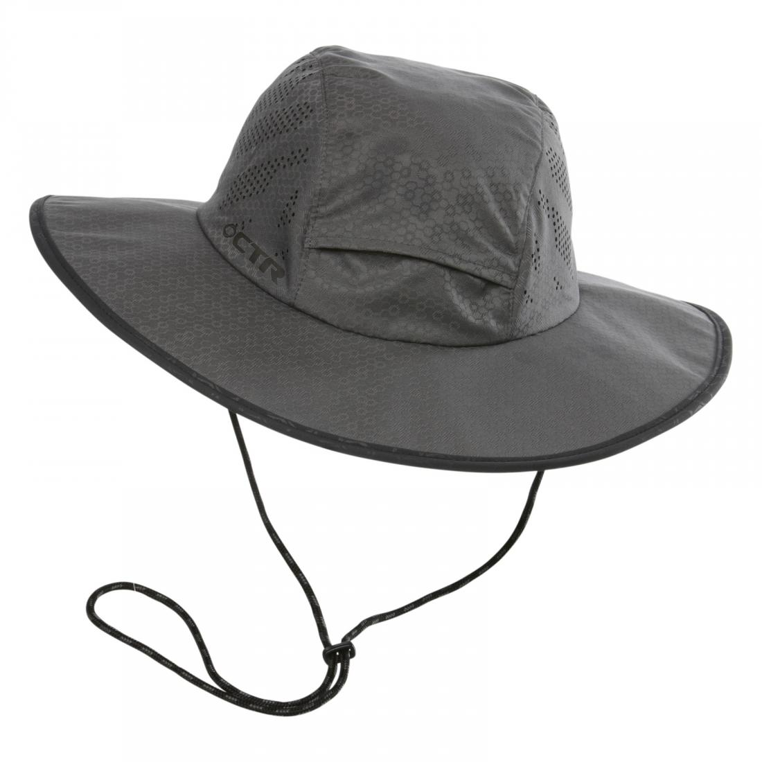 Chaos Панама Summit Expedition Hat (S-M, 502 LIGHT GREY, ,)
