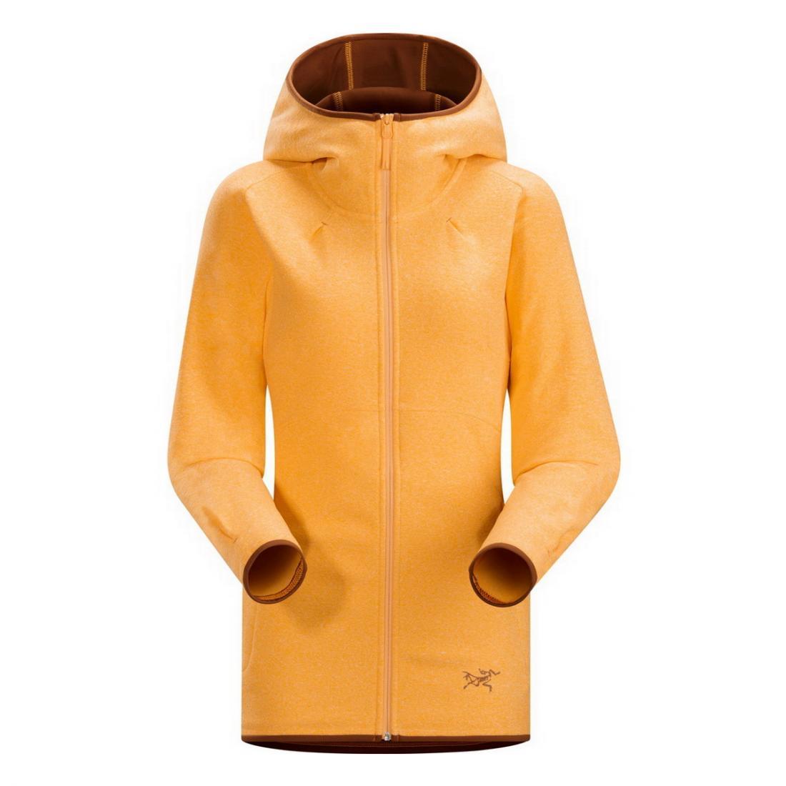 Куртка Caliber Hoody жен.Куртки<br><br><br><br> Заниматься спортом в куртке Caliber Hoody Womens удобно, тепло и практично. Это женская модель от компании Arcteryx для прохладной погоды. Удли...<br><br>Цвет: Оранжевый<br>Размер: M