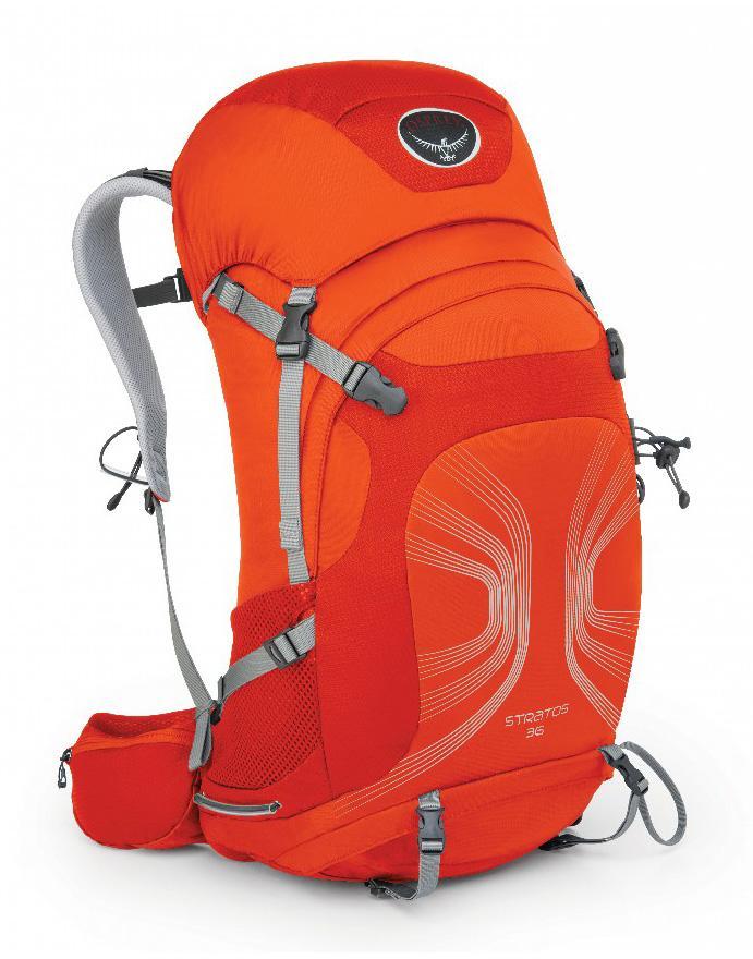 Рюкзак Stratos 36Туристические, треккинговые<br><br><br>Цвет: Оранжевый<br>Размер: 34 л