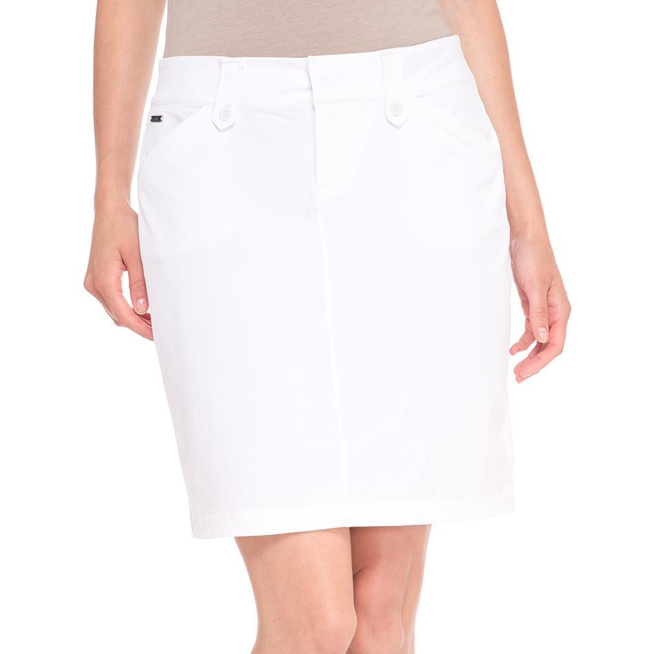 Юбка LSW1301 MILAN SKIRTЮбки<br><br> Элегантная юбка LSW1301 Lole Milan Skirt это невероятно удобный вариант для прогулок и путешествий. Благодаря классическому лаконичному дизайну она отлично сочетается с разными блузками и кофтам...<br><br>Цвет: Белый<br>Размер: 2