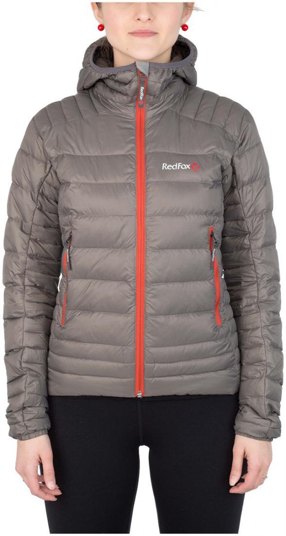 Куртка утепленная Quasar ЖенскаяКуртки<br><br> Cверхлегкая и компактная куртка, выполнена с применением композитного утеплителя PrimaLoft® Down Blend Silver, в равной степени рассчитана на использование в качестве наружного или второго утепляющего слоя.<br><br><br>материал: 100% Nylon ri...<br><br>Цвет: Темно-серый<br>Размер: 42