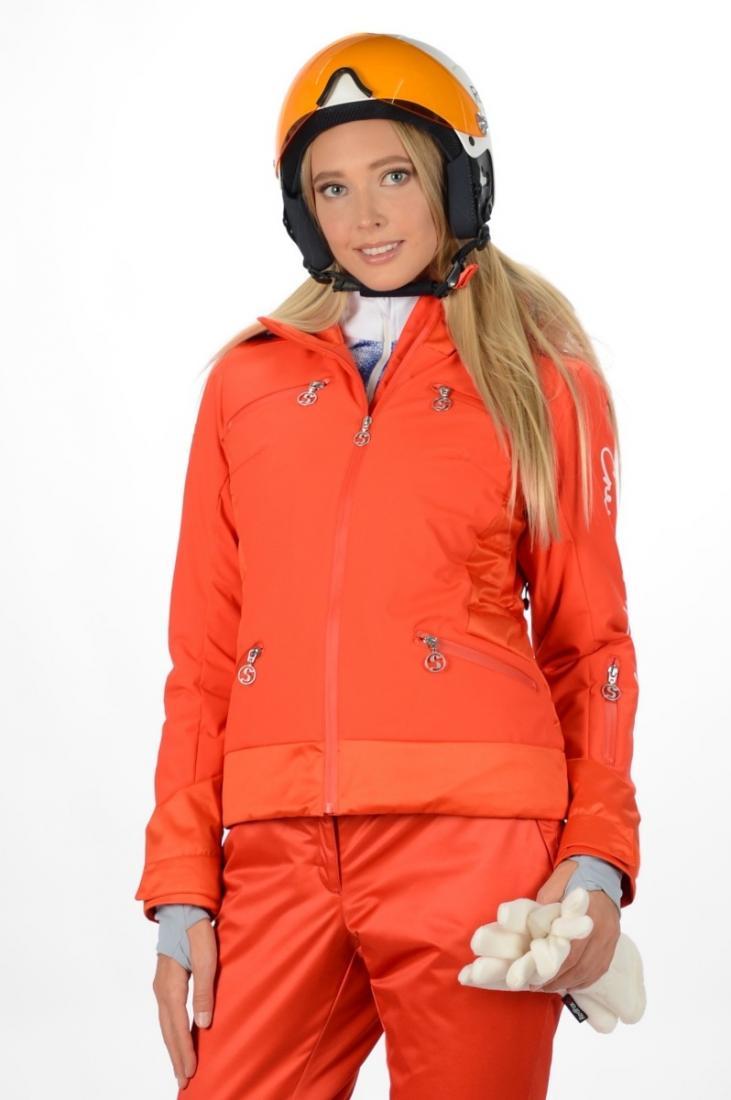 Куртка 42432 жен.Куртки<br>Укороченная горнолыжная модель, выполненная из двух тканей, которые в сочетании обеспечивают комфорт при катании и отличный внешний вид изделия Модель является универсальной, подходящей к любому виду outdoor активности и для использования в городе....<br><br>Цвет: Красный<br>Размер: 52
