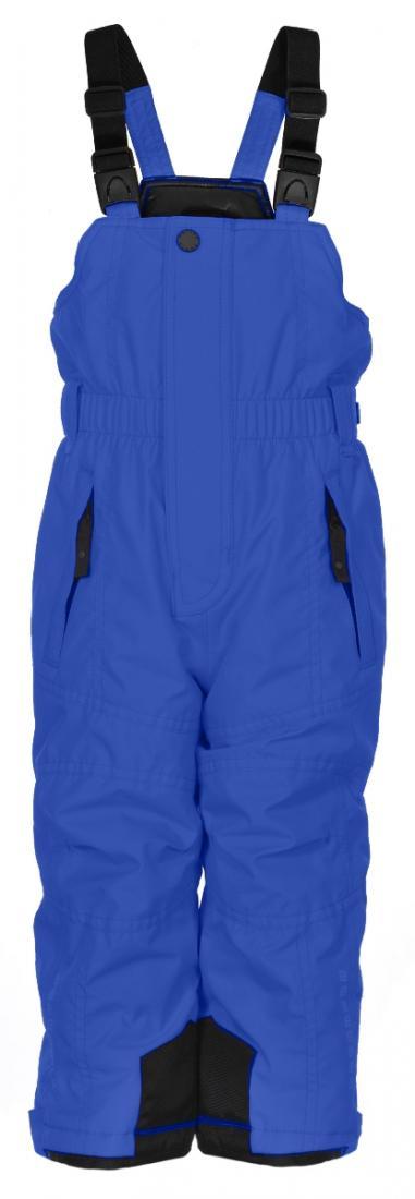 Брюки на лямках W16-0924-BBBY дет.Брюки, штаны<br><br><br>Цвет: Черный<br>Размер: 3A
