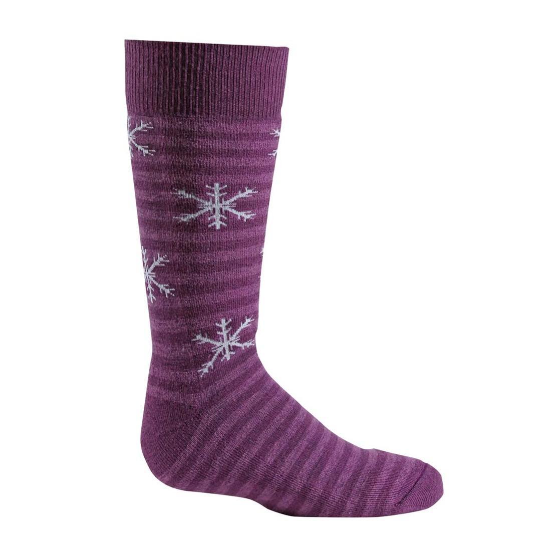Носки лыжные 5512 PIPPI женскиеНоски<br><br> Тонкие носки, изготовленные с применением Eco волокон, сохранят Ваши ноги в тепле и комфорте. Обладают идеальной посадкой с учетом анатомических особенностей женской ноги.<br><br><br>Специальная конструкция вязки Memory-Knit позволяет носку ...<br><br>Цвет: Фиолетовый<br>Размер: L