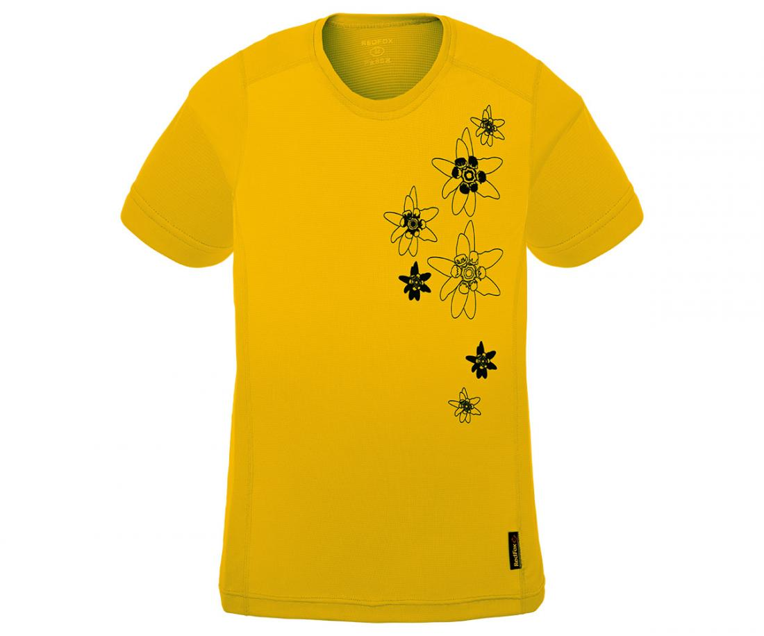 Футболка Flower TФутболки, поло<br><br>Материал – Quick Dry Polyester, UV-CUT, Odor resistant.<br>Размерный ряд – 42-52.<br><br><br>Цвет: Желтый<br>Размер: 44
