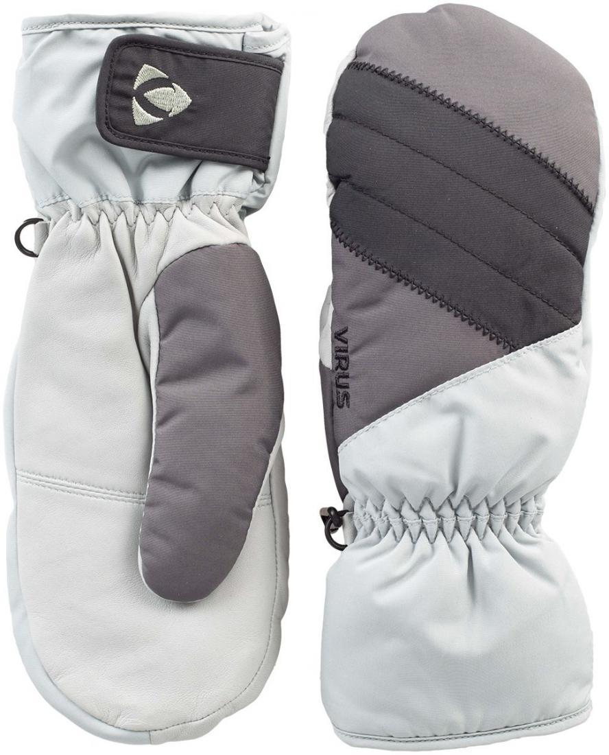 Рукавицы Fluff W женскиеВарежки<br>Женские рукавицы для комфортного пребывания в холодной среде. Утеплитель HyperLoft надежно сохраняет тепло внутри. Регулировка запястья допол...<br><br>Цвет: Серый<br>Размер: L